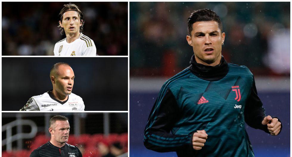 Futbolistas mayores de 34 años más valiosos. (Getty)