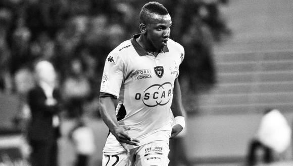 Christopher Maboulou murió mientras jugaba con unos amigos en las afueras de París. (Foto: Twitter Bastia)