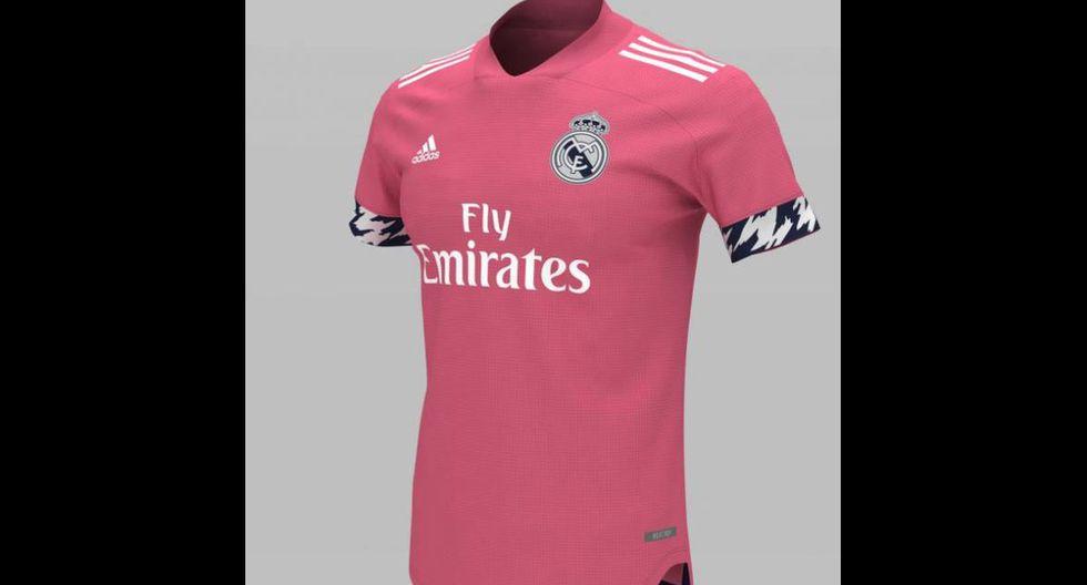 La segunda equipación del Real Madrid. (Foto: Footyheadlines)
