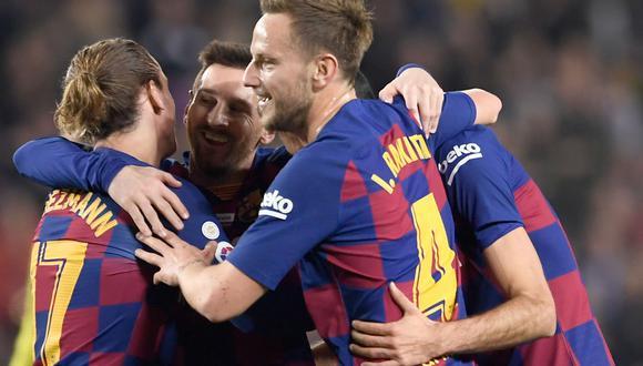 Barcelona vs. Mallorca en vivo: los azulgranas dominan el partido en su casa. (AFP)