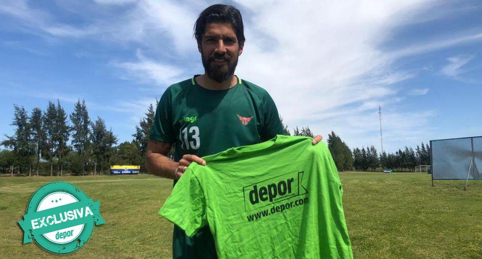 Sebastiá Abreu juega en Boston River de Uruguay. (Foto: José Luis Saldaña)