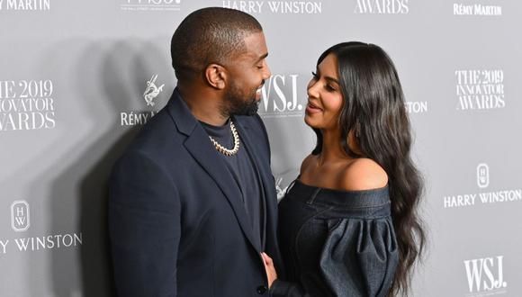 Desde que Kanye West lanzó su candidatura a la presidencia de EE.UU., la pareja ha protagonizado duros momentos familiares. (Foto: Angela Weiss / AFP)