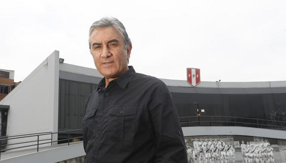 Juan Carlos Oblitas Saba, actual director deportivo de la Federación Peruana de Fútbol, se refirió a Ormeño y varios temas de la Selección Peruana. (Foto: GEC Archivo)