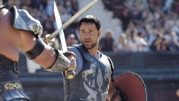 Gladiador es una de las películas más conocidas de Russell Crowe (Foto: Universal Pictures)