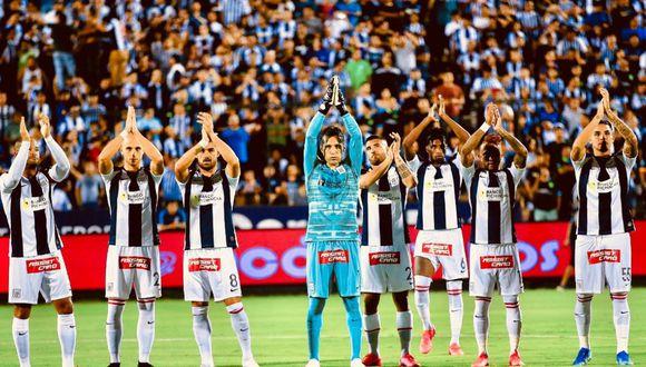 Alianza Lima perdió 1-0 ante Nacional de Uruguay en su debut en la Copa Libertadores 2020. (Foto: Twitter)