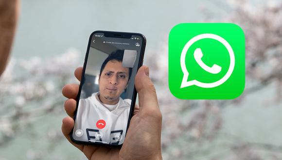 """Conoce el truco para activar el """"modo retrato"""" en tus  videollamadas de WhatsApp. (Foto: Depor)"""