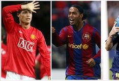 Estos jugadores acompañaban a Cristiano Ronaldo, Lionel Messi y Ronaldinho en el once ideal de los más valiosos del 2008 | FOTOS