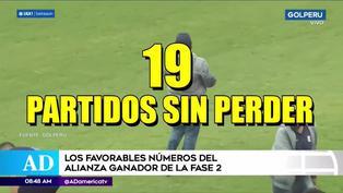 Alianza Lima: Los favorables números del equipo 'blanquiazul' en la Liga 1