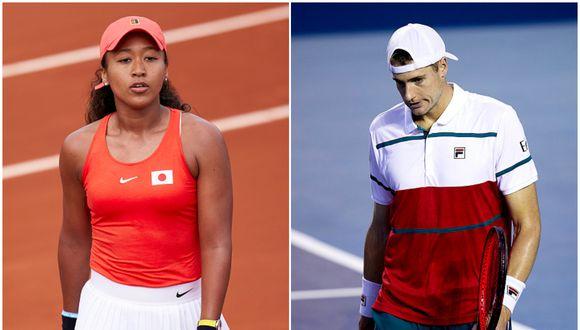 Osaka ocupa el puesto 10 del ránking WTA; mientras que Isner se encuentra en el puesto 21 de la clasificación ATP. (Getty Images)