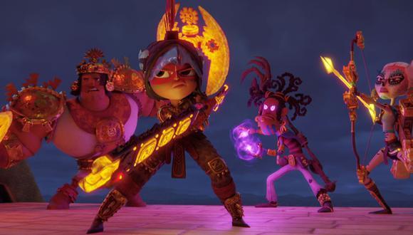 """Netflix estrenó el tráiler de """"Maya y los tres"""" su nueva serie animada. (Foto: Netflix)"""