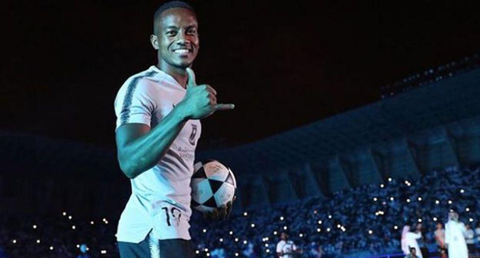 André Carrillo fichó por el Al Hilal en condición de préstamo por una temporada. (Foto: Instagram Al Hilal)