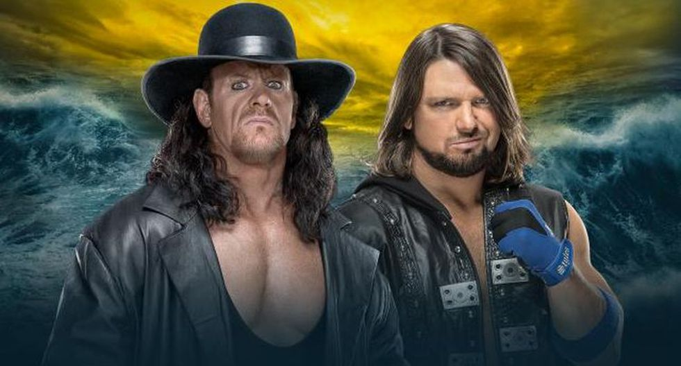 WrestleMania 36: The Undertaker vs AJ Styles en la cartelera del 4 de abril. (WWE)