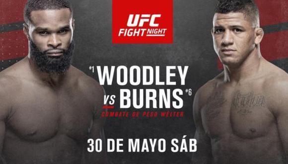 UFC anunció su cartelera completa para el evento del 30 de mayo. (UFC)