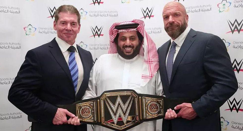 La WWE habría ganado 50 millones de dólares en el Greatest Royal Rumble de Arabia Saudita. (WWE)