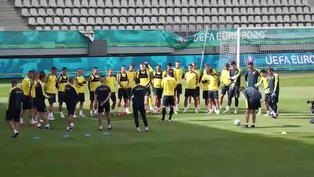 Eurocopa: Ucrania entrena en Bucarest de cara al decisivo encuentro frente a Austria