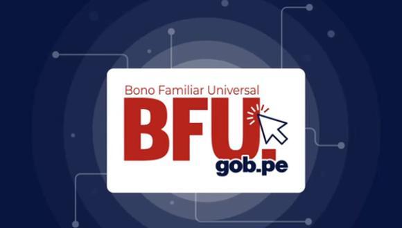 Bono Familiar Universal BFU de 760 soles: modalidades de pago y dónde cobrar. (Foto: Difusión)
