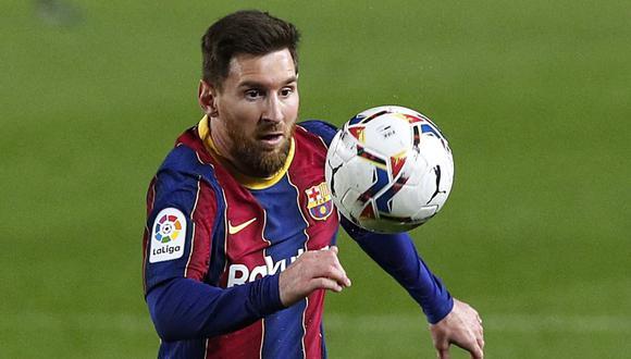 Lionel Messi termina contrato en junio con el Barcelona. (Foto: Reuters)