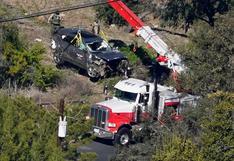 Pérdida total: las imágenes de cómo quedó el automóvil de Tiger Woods tras su accidente [FOTOS]