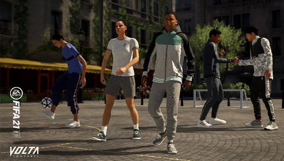 VOLTA, el fútbol callejero de FIFA 21