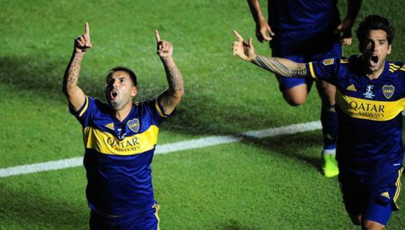 Boca Juniors derrotó en penales a Banfiled y se llevó el título de la Copa Diego Maradona. (Foto: Twitter)