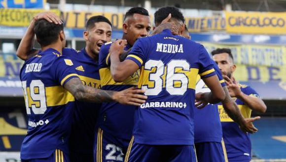 Boca venció 3-1 a Atlético Tucumán en la Jornada 10 de la Copa de la Liga Profesional Argentina 2021. (Foto: Twitter)