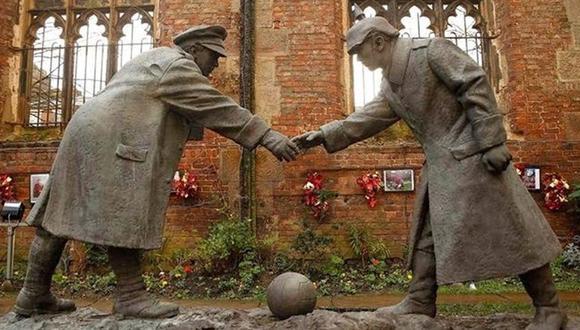 El día que el fútbol y la Navidad detuvieron la Primera Guerra Mundial.