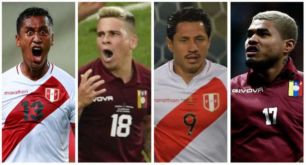 Los 10 jugadores más caros entre Perú y Venezuela. (Foto: AFP)