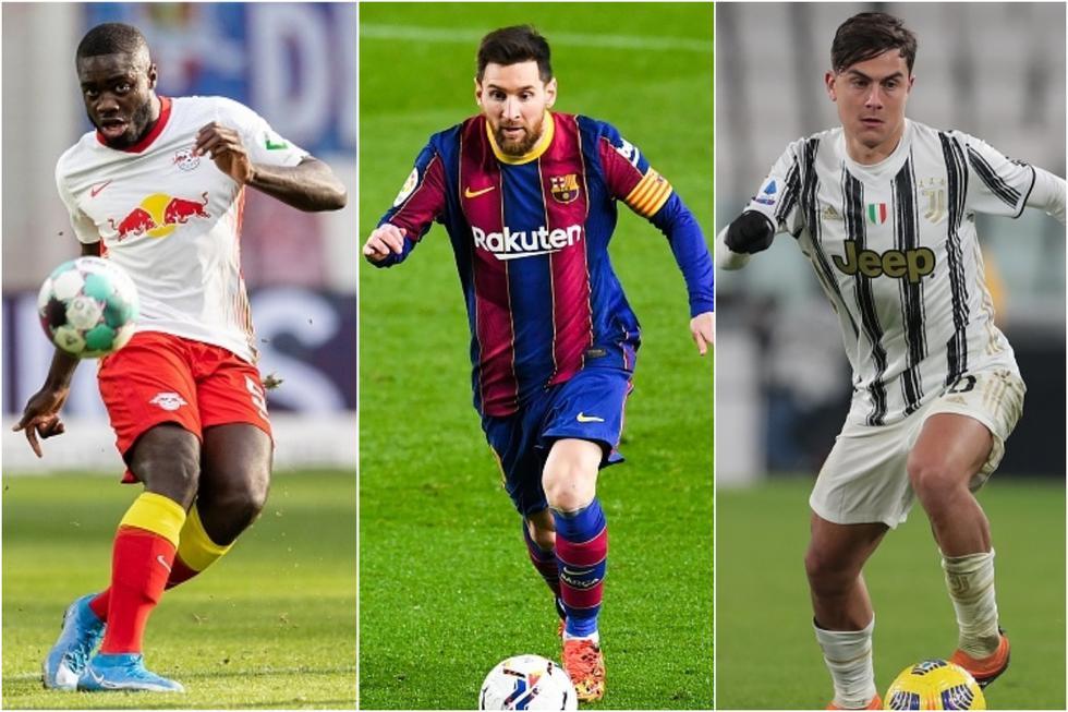 El XI ideal de los jugadores más valiosos que se quedaron sin Champions League. (Getty)