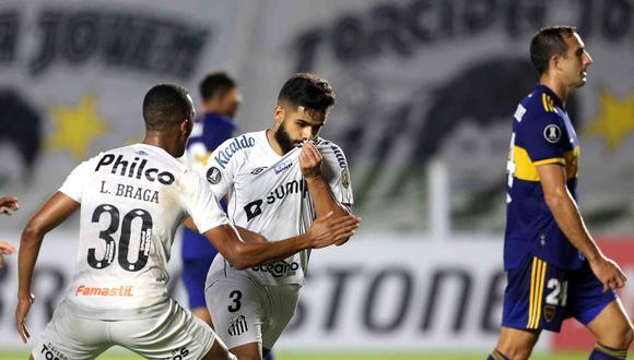 Santos sumó su primer triunfo en la Copa Libertadores 2021. (Foto: Conmebol)