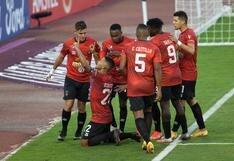 Con 10 hombres: Vallejo cerró su participación en la Libertadores tras caer 2-0 ante Caracas FC
