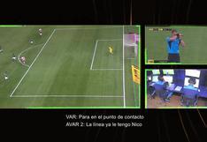 A la luz pública: Conmebol publicó audios del VAR del gol anulado a Montiel en Palmeiras vs. River Plate