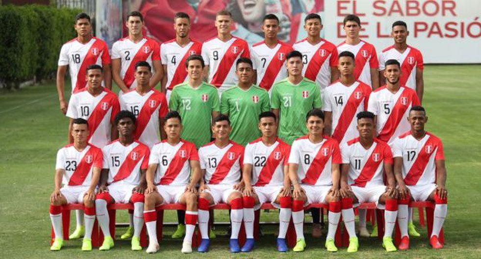 Perú vs. Uruguay se miden en Talca por el Sudamericano Sub 20. (Foto_ @SeleccionPeru)