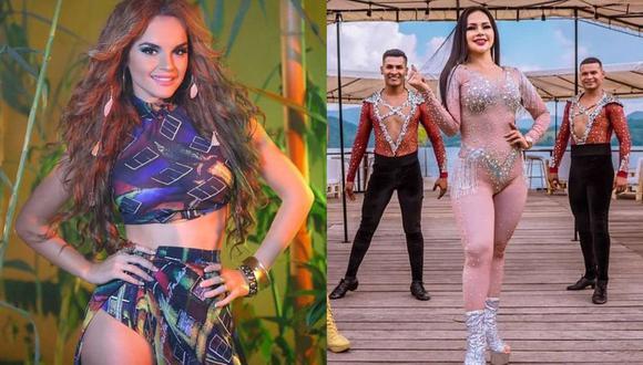 """Melody grabará el remix de """"No sé"""" junto a Explosión de Iquitos. (Foto: Composición/Instagram)"""