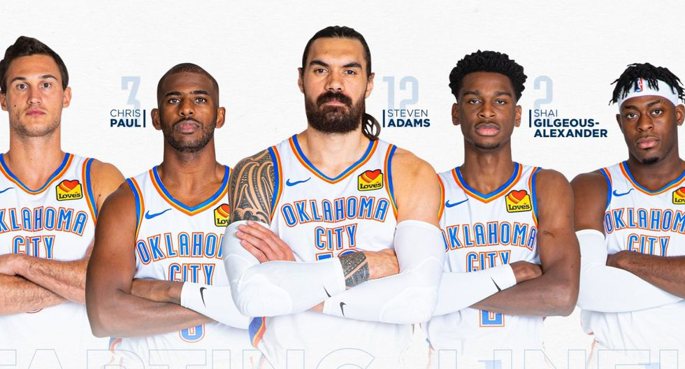 Oklahoma City Thunder está valorizado en 1575 millones de dólares (Foto: Oklahoma City Thunder)