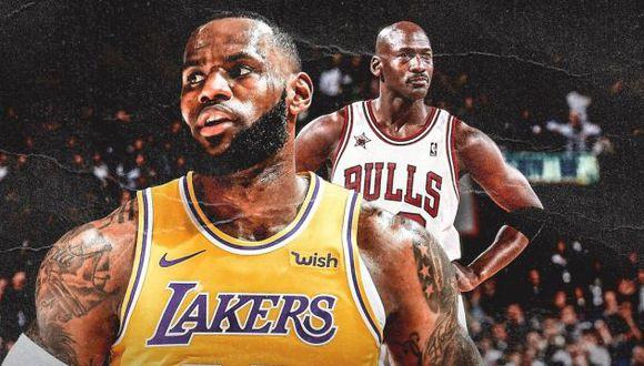 """LeBron James: """"Podría haber llevado a Michael Jordan a otro nivel durante esos años en Chicago"""". (Foto: ClutchPoints)"""