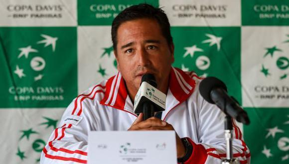 """'Tupi' Venero: """"En los partidos de la Copa Davis, es fundamental el apoyo del público"""". (FDPT – Tenis al Máximo)"""