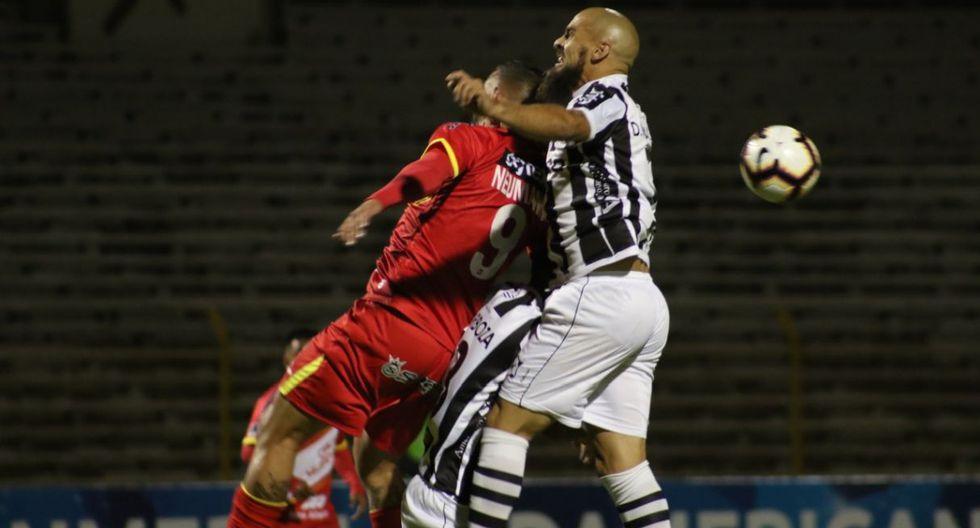 Sport Huancayo empató con Montevideo Wanderers y se despidió de la Copa Sudamericana. (Foto: Jhefryn Sedano)