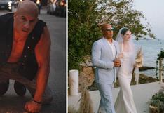 ¡Gran gesto! Vin Diesel llevó a la hija de Paul Walker hacia el altar   VIDEO