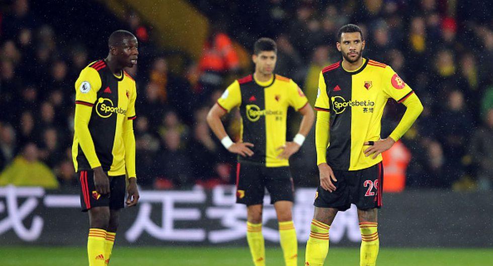 Watford pelea por no descender en esta temporada de la Premier League. (Foto: Getty Images)