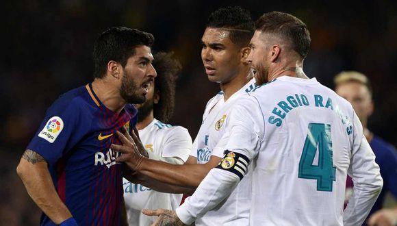 La agitada agenda de Real Madrid y Barcelona antes de jugar por La Liga en marzo del próximo año. (Foto: AFP)