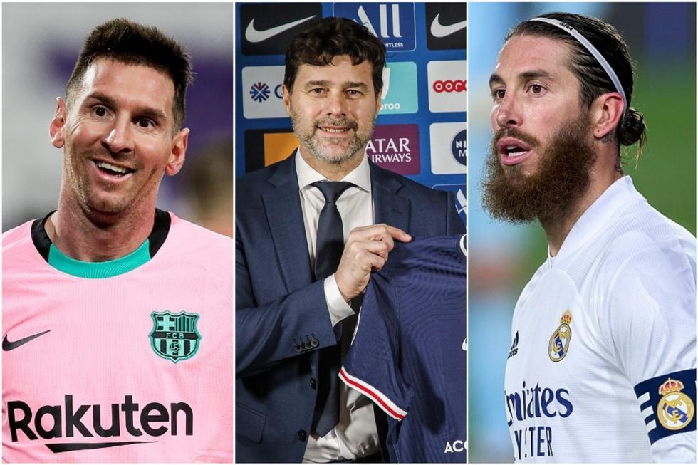El XI soñado de Pochettino en PSG con Messi, Ramos y dos cracks del Tottenham. (Getty)