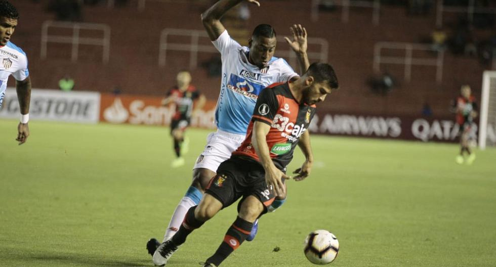 Melgar le ganó 1-0 a Junior en la Copa Libertadores. (Foto: Omar Cruz)