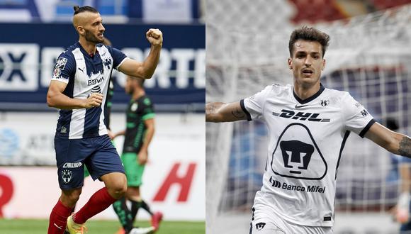 Monterrey y Pumas empataron 1-1 por la cuarta fecha del Torneo Apertura 2020 Liga MX.