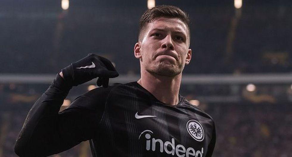 Luka Jovic ha marcado 27 goles con el Frankfurt esta temporada. (Getty)