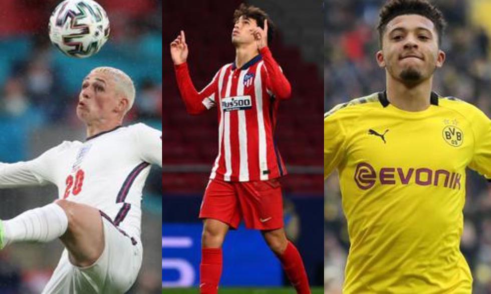 Los futbolistas Sub-21 más caros de la Eurocopa. (Foto: Agencias)