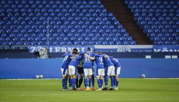 Schalke 04 es colero absoluto de la Bundesliga y podría irse a la baja. (Foto: Reuters)