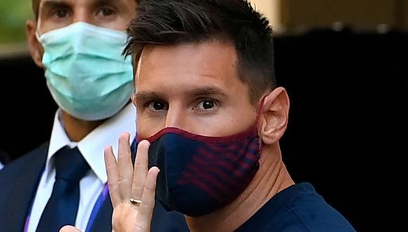Lionel Messi busca salir como agente libre del FC Barcelona para fichar por el Manchester City. (Foto: AFP)