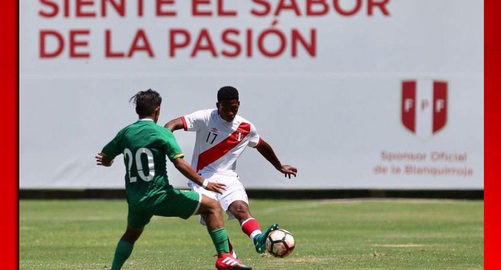 Selección Peruana Sub 17 ganó 3-0 a Bolivia en su último amistoso previo al Sudamericano. (Prensa FPF)