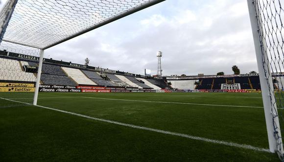 Alianza Lima vs. Racing Club: así luce Matute. (Foto: Libertadores)