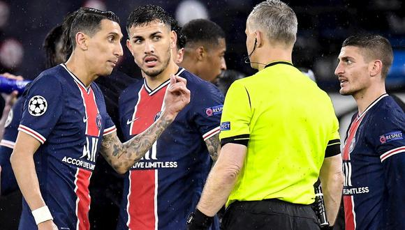 PSG quedó eliminado de Champions League ante Manchester City. (Foto: EFE)